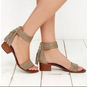 STEVE MADDEN Darcie Heeled Sandal Shoes Size 7.5